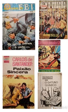 5 livros de bolso
