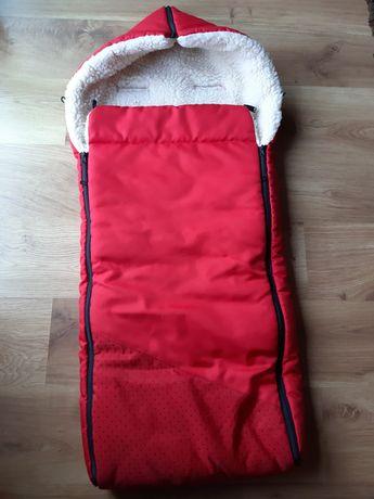 Śpiwór, ocieplacz do wózka i sanek, dł. 120 cm