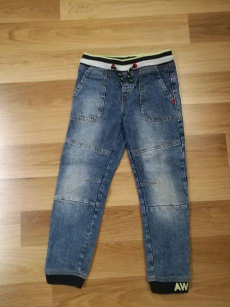 Spodnie jeansowe rozm 116