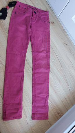 Spodnie jeansy 152