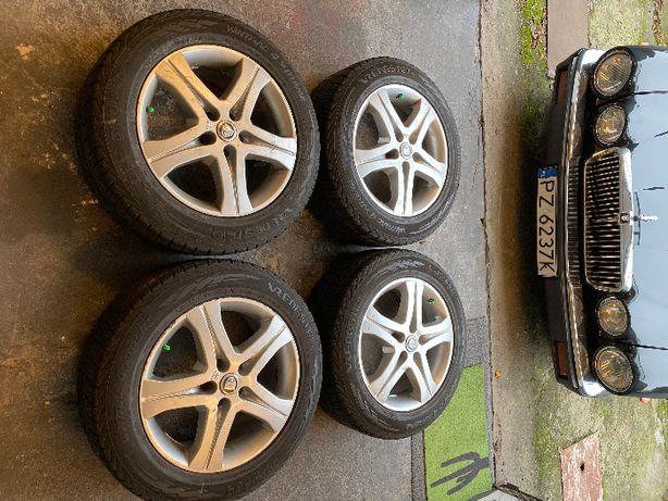 Koła aluminiowe Jaguar XF 17 cali z oponami Vredestein Wintrac 4 Xtrem