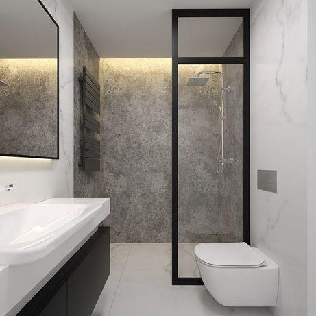 Remonty łazienki wykończenia wnętrz układanie płytek