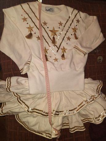Костюм карнавальный звезды девочке 146-152