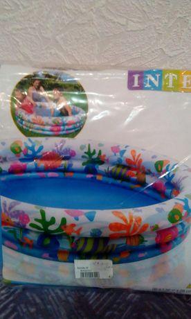 Детский бассейн lntex новый