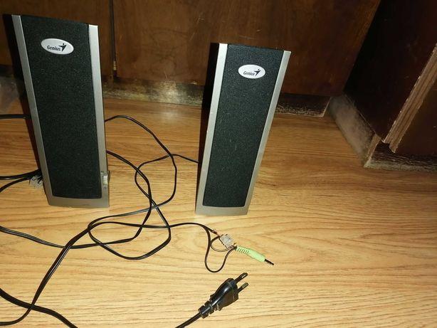 Głośniki do laptopa lub radia czy telefonu sprawne