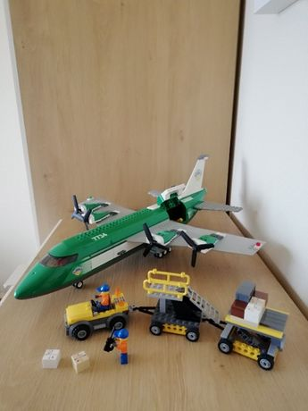 Lego City 7734 samolot cargo
