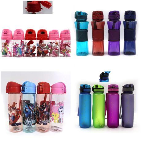 Детская и спортивная бутылка для воды, бутылочка для девочки мальчика