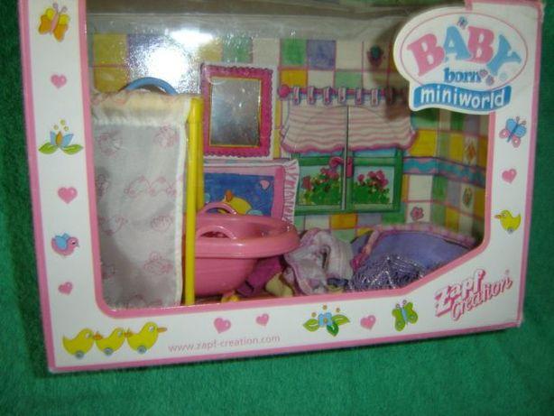 Baby Born łazienka mini world Zapf Creation