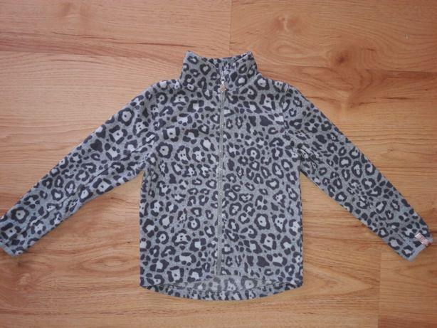 Polar bluza dla dziewczynki smyk panterka 128