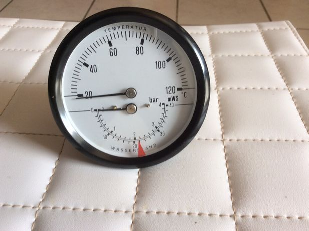 Mostrador temperatura e pressão