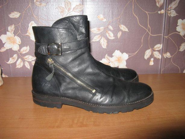 Ботинки сапоги romagnoli кожаные