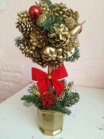 Stroiki świąteczny drzewko