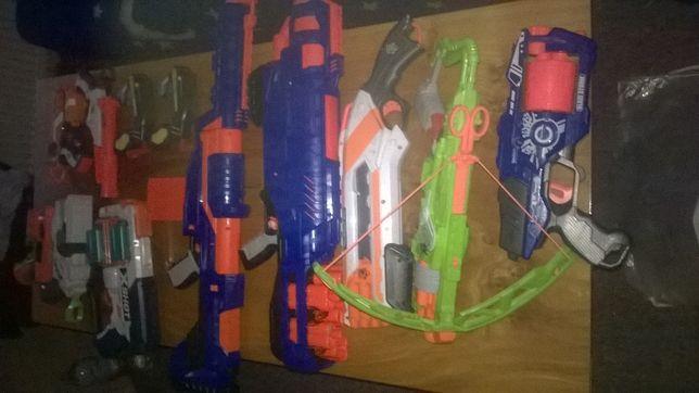 Nerf pistolety na strzałki 12 sztuk