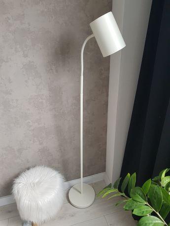 Lampa podłogowa biała Philips tuba regulowana do czytania