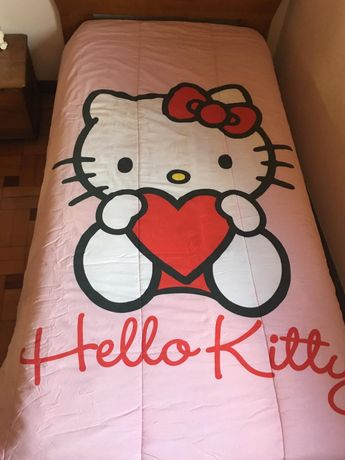 Edredom hello Kitty
