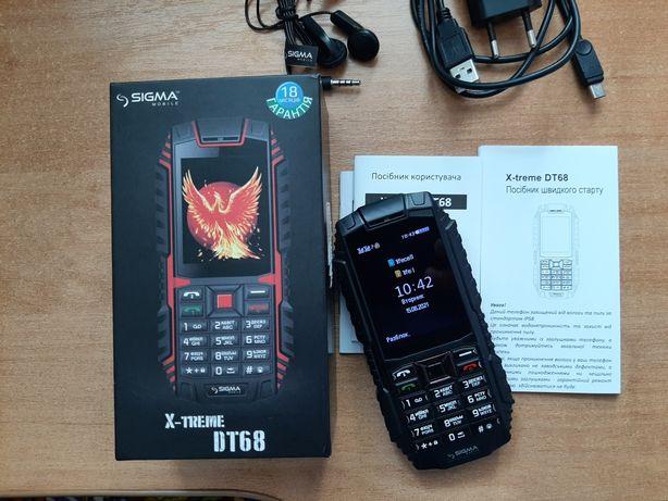 Телефон противоударный на 2 SIM