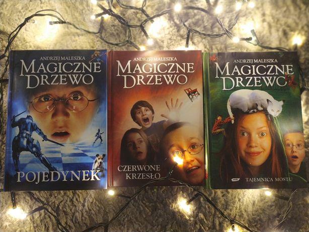Seria Magiczne Drzewo: Czerwone Krzesło, Tajemnica Mostu, Pojedynek