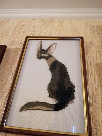 Вышивка крестиком/Египетская кошка