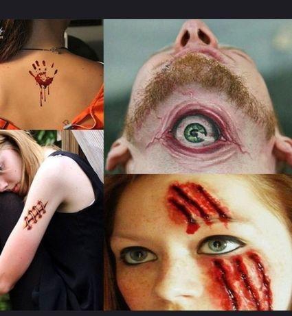 Tatuagens Halloween