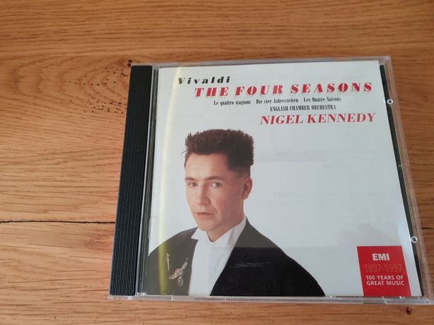 "Płyta CD Nigel Kennedy ""The four seazons"""