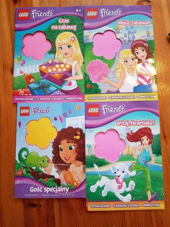 Lego friends książki cena za zestaw
