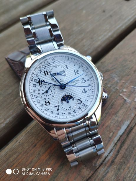 Guanqin Moonphase Automatic Nowy Box