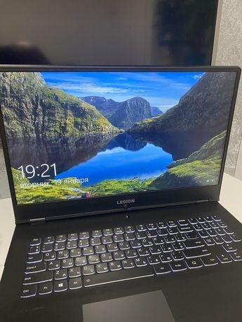 Игровой ноутбук legion y540-17 17дюймов i7 9750h 1660ti 16gb ram