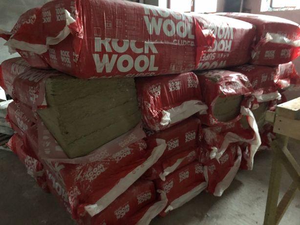 Продам утеплитель базальтовый 100 мм и 50 мм Rockwool Superrock