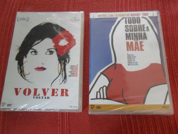 ALMODOVAR 2 dvds Volver / Tudo Sobre a Minha Mãe por abrir
