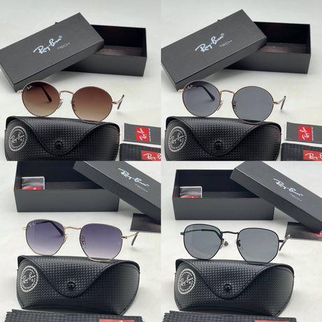 Солнцезащитные очки Ray-ban,versace ,Balenciaga ,Cartier