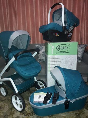 4 baby cosmo коляска каляска 3 в 1
