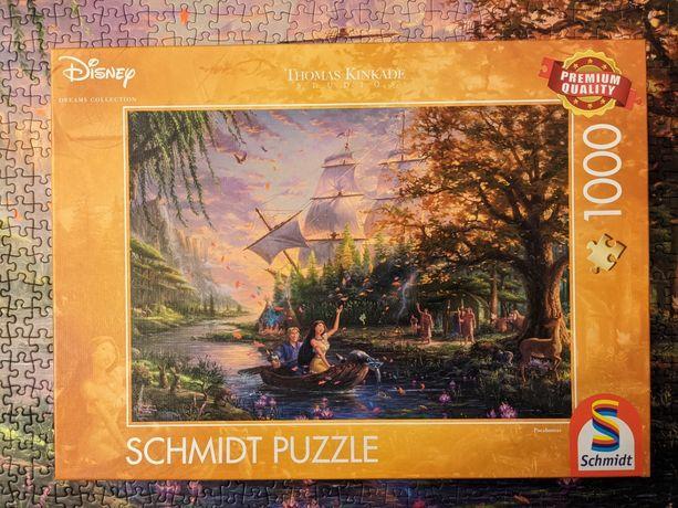 UNIKAT Pocahontas Kinkade Disney puzzle 1000
