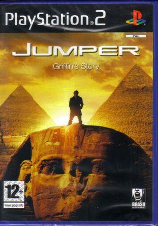 Jogo PS2 JUMPER: GRIFFIN'S STORY - Novo! A Estrear! SELADO! Original!