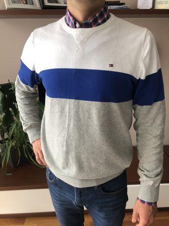 Tommy hilfiger sweter oryginalny L