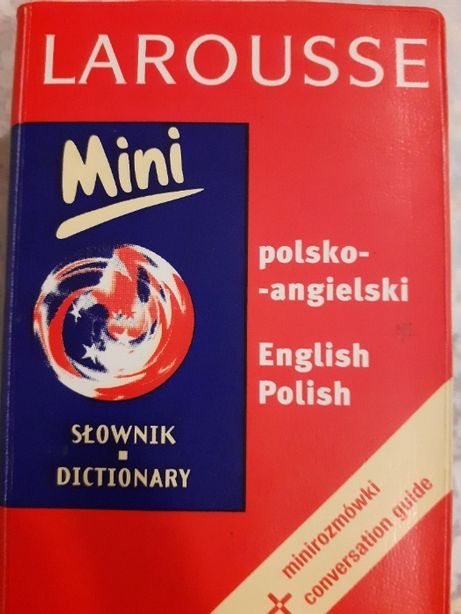 mini słownik polsko-angielski i angielsko-polski Larousse