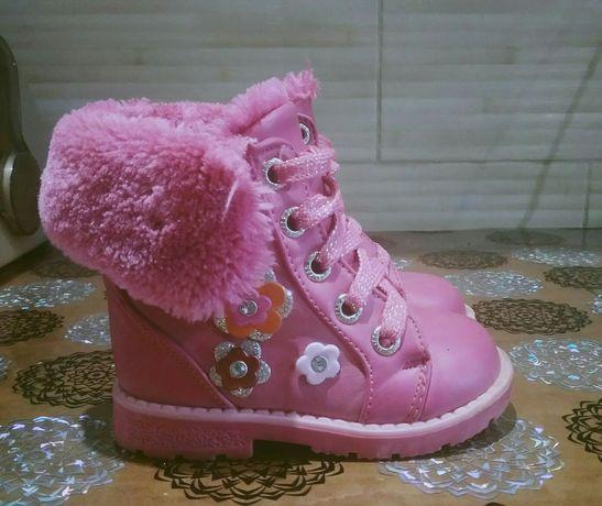 Детские теплые батиночки