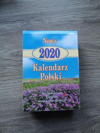 Oryginalna kartka z kalendarza ROK 2020