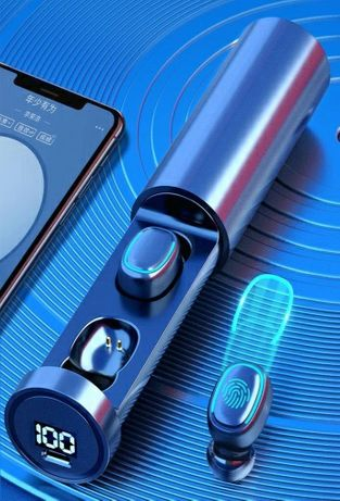 Беспроводные Водонепроницаемые Bluetooth 5,0 наушники TWS-05 сенсорные