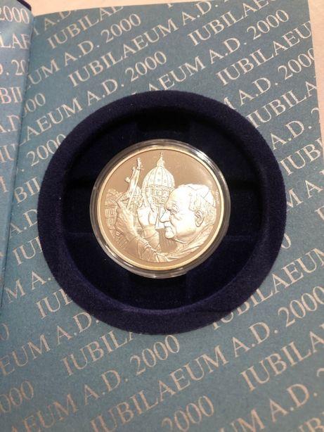 Vendo Moeda em Prata 925, comemorativa do grande Jubileu do ano 2000