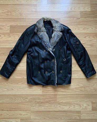 Кожаная куртка berto lucci