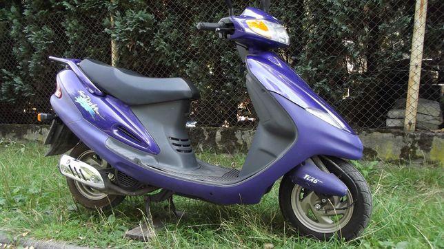 motocykl 125 cm3 skuter z niemiec