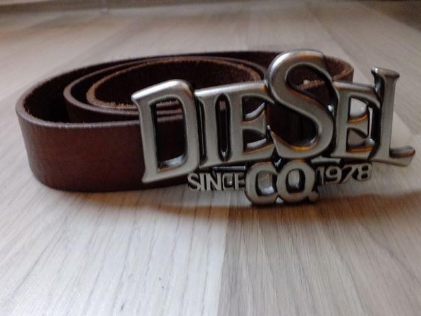 Pasek Diesel skórzany 95cm