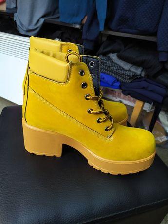 Ботинки замша натуральная размер 36 стелька 23, 5