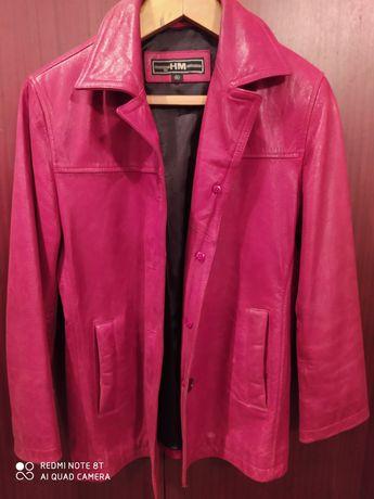 Кожаная куртка . XL р