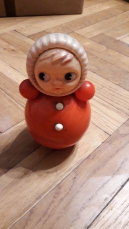 Kolekcjonerska lalka kiwaczek PRL