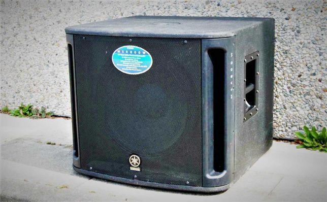 YAMAHA MSR800W  Активный сабвуфер 15'' RCF JBL ElectroVoice FBT