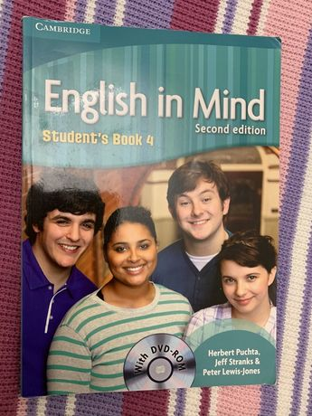 Книга и WorkBook English in My Mind B2