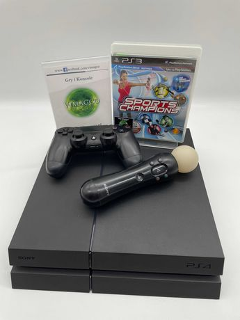 Gra Sports Champions + Konsola PlayStation 4 fat z dyskiem 1TB + Move