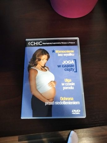 Płyta DVD dla kobiet w ciąży / ciężarnych
