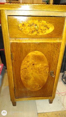 Drewniana dębowa szafka tanio 419